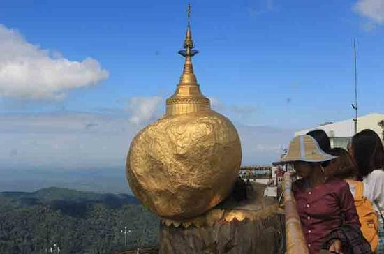 Small-Group Tour: Kyaiktiyo Pagoda and Bago from Yangon with