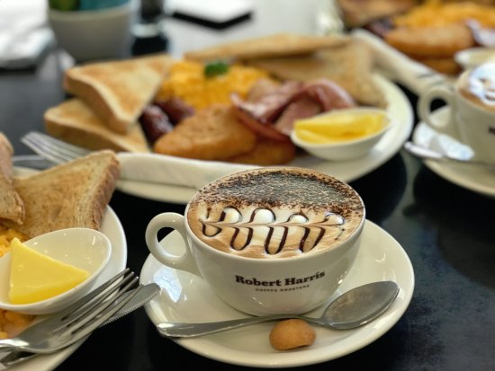 Christchurch YMCA: 紐西蘭有名的Robert Harris 咖啡