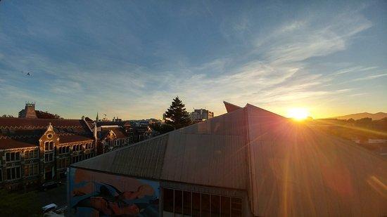 Christchurch YMCA: 日落