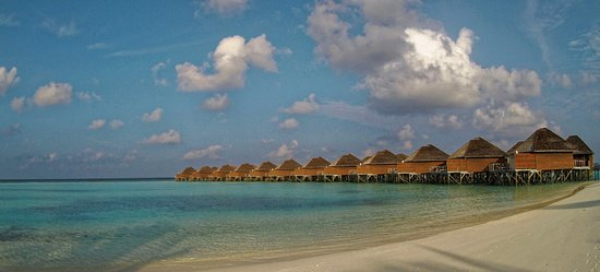 Vakarufalhi Island Resort : Виллы на воде