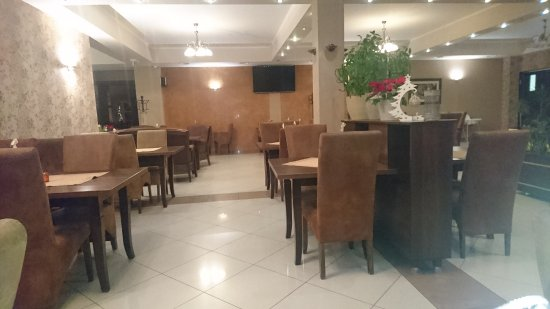 Lancut, Polen: Restaurant