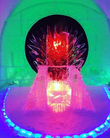Kirovsk, Rusland: ледяной трон