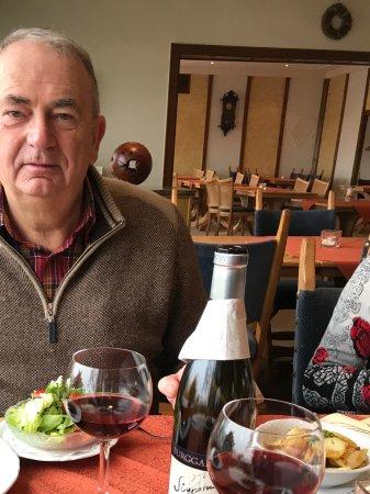 Leiwen, Tyskland: Lekker fris salaatje erbij