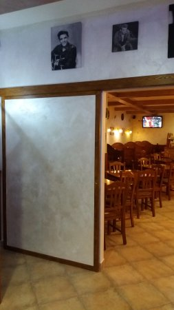 Vallata, Италия: Sala pizzeria