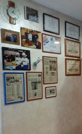 Vallata, Italie : Attestati di merito ai campionati della pizza