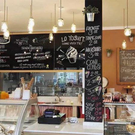 Melle, อิตาลี: Fioca Gelato e Caffè