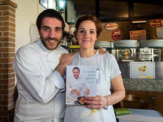 Salvaterra, Italy: Corso di pasta fresca senza glutine con lo chef Marco Scaglione.