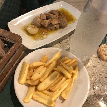 Ristorante 5 poderi in roma con cucina cucina romana for Menu cucina romana