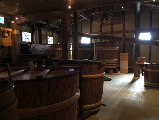 Kobe, Japan: 沢の鶴資料館の館内