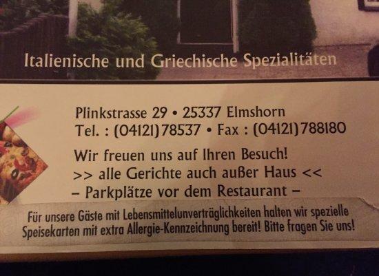 San Marino Elmshorn Restaurant Bewertungen Telefonnummer