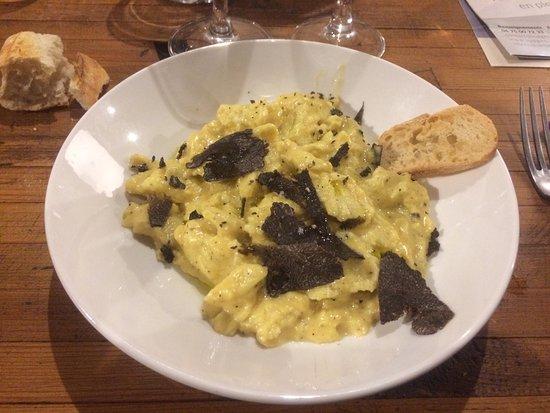 La Paillotte: Une bonne omelette aux truffes