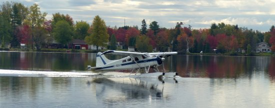 Saint-Mathieu-du-Parc, Canada: Hydravion à Lac à la Tortue