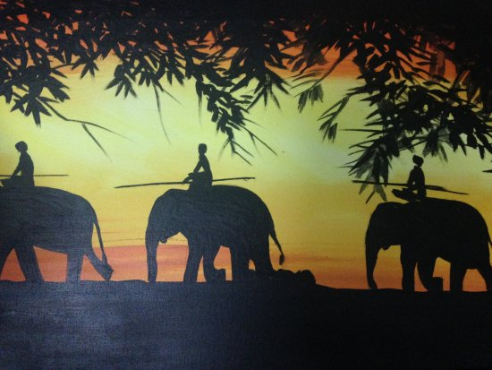 Negombo, Sri Lanka: Elephanet Rider