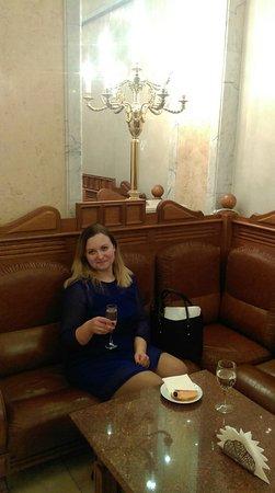 New Stage of State Academical Bolshoi Theatre: В буфете. Разумеется,бутерброд с рыбкой прилагается)))))