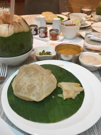 The Oberoi Grand: You know you are in Kolkata when breakfast is luchi, cholar dal and mishti doi!