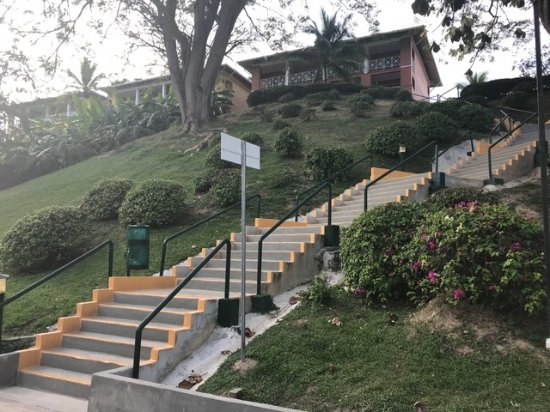 Royal Decameron Golf Beach Resort Villas Stairs Were A Form Of Exercise