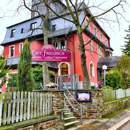 Augustusburg, Alemania: Über Generation schon immer eine gute Adresse. Foto vom Januar 2018