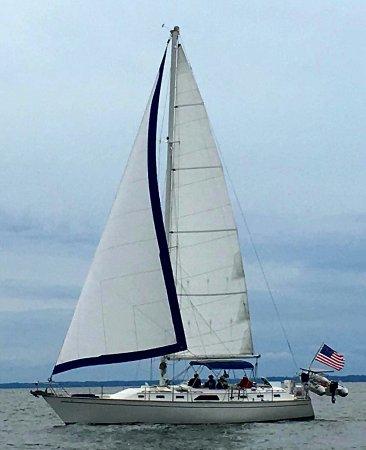Rock Hall, MD: Island Girl Underway