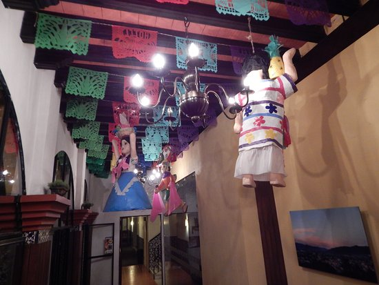 Hotel Oaxaca Real: Okazjonalny wystrój lobby.