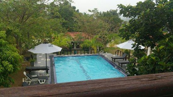 Fort Edge Retreat: The pool