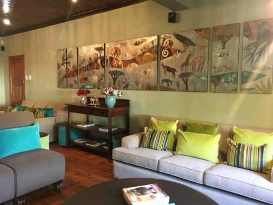 Addo, Sudáfrica: Lounge Bereich innen