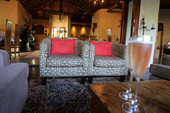 Addo, Sudáfrica: Lounge Bereich außen