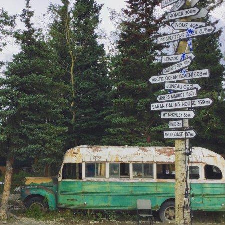 Healy, AK: Magic bus