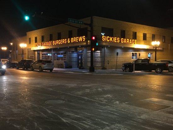 East Grand Forks, MN: On the corner diagonally opposite Cabellas