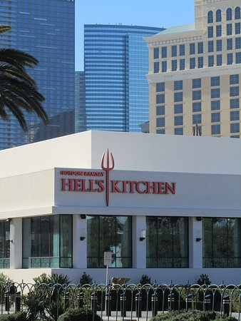 Hell S Kitchen Restaurant And Skyline Picture Of Gordon