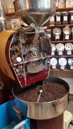 Smithville, NJ: On site coffee roaster