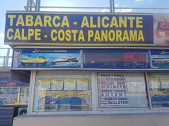 Isla de Benidorm (L'illa de Benidorm): The ticket office