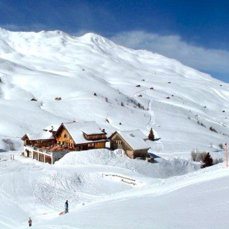 Fideriser Heuberg: Ausgangsort des längsten Schlittelweges der Schweiz 🇨🇭
