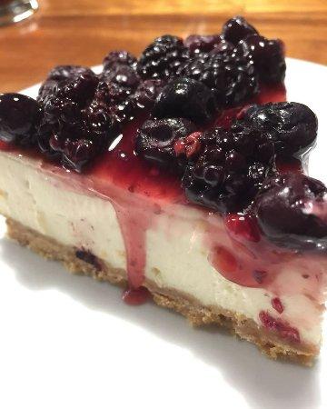Coronel Pringles, Argentine: Delicioso cheesecake