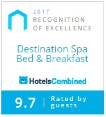 Destination Spa Bed & Breakfast: 2017 Hotel combined award