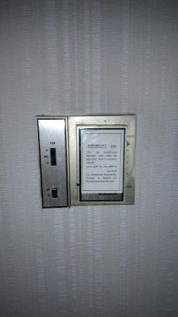 Ramses Hilton: AA sin control de temperatura