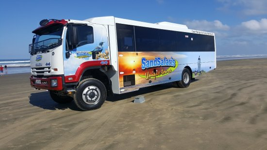 Sand Safaris Cape Reinga 90 Mile Beach Tours