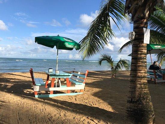 Hotel Residence Playa Colibri : Frühstück hier
