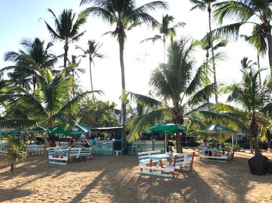 Hotel Residence Playa Colibri : Beachbar (Frühstück)