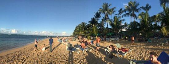 Hotel Residence Playa Colibri : Strand mit Beachbar