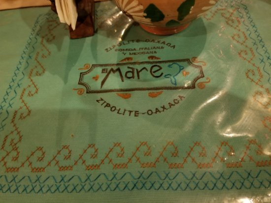 Restaurantde El Mare: Table setting