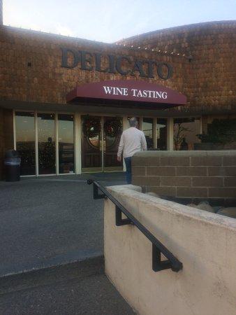 Delicato Family Vineyards Tasting Room: Entrance