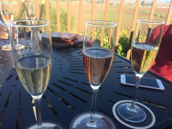 Gloria Ferrer Champagne Caves: Sparkling wines