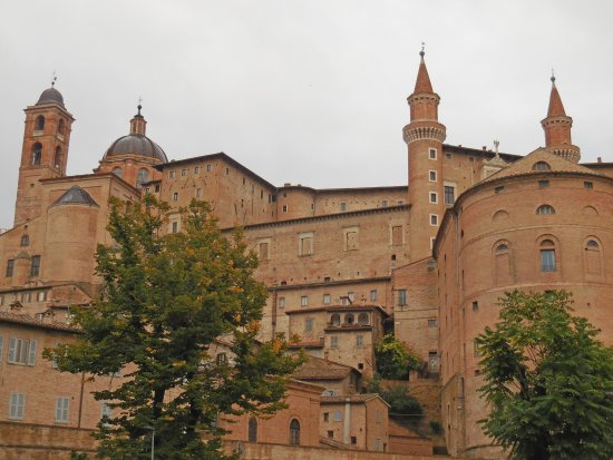 View Of Urbino From Terrace Of The Restaurant Picture Of