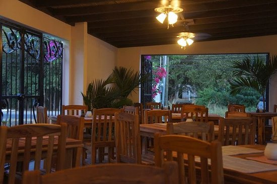 Playa Grande, Kosta Rika: Restaurant
