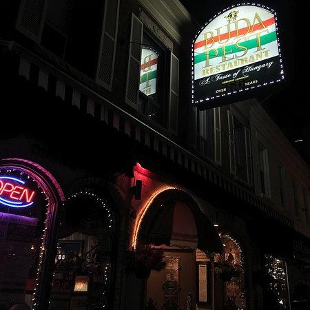Budapest Dining Room Tavern London Ontario