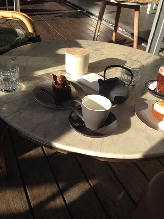 Swanbourne, Australië: Chocolate cake gluten free