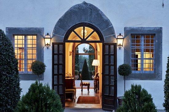 Villa di Piazzano: Restaurant