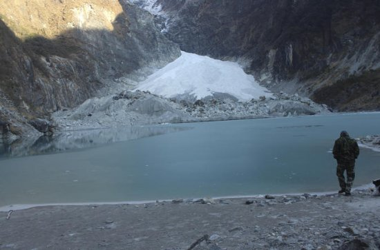 Kaupche Glacier Lake Amazing Remote...