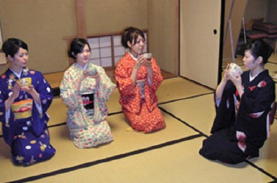 Genuine tea ceremony experience plan