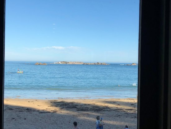 The Flying Fish Cafe: Lovely Sea Views from the Restaurant